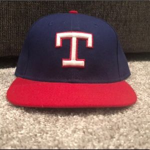 Texas Rangers throwback New Era 5950 hat